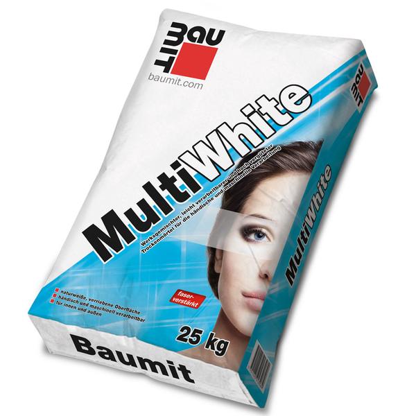 Баумит МултиУайт - бяла реновираща шпакловка